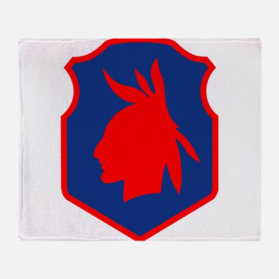 98th ID.png Throw Blanket
