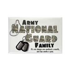 National Guard Family Rectangle Magnet