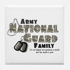 National Guard Family Tile Coaster
