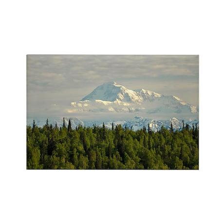 Mt McKinley, Alaska - Rectangle Magnet