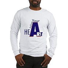 Follow Your Art Long Sleeve T-Shirt