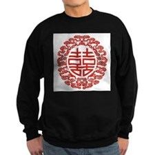 red double happiness Sweatshirt
