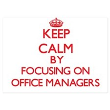 Keep Calm by focusing on Office Manage Invitations