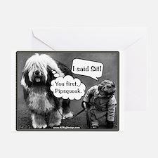 Pipsqueak Greeting Cards (Pk of 10)