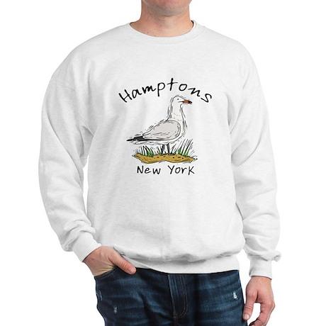 Hamptons NY Seagull Sweatshirt