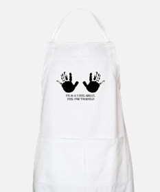 funny 50th birthday hands BBQ Apron