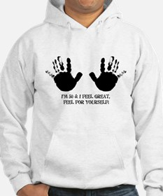 funny 50th birthday hands Hoodie