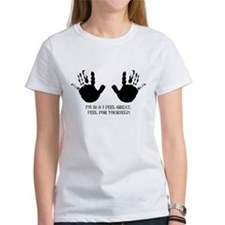 funny 50th birthday hands Tee