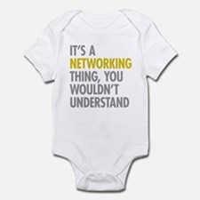 Its A Networking Thing Onesie