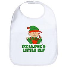 Dziadek's Little Elf Bib