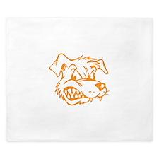 Angry Dog King Duvet