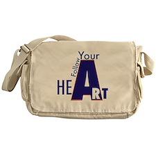Follow Your Art Messenger Bag