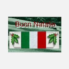 Cute Italia christmas Rectangle Magnet