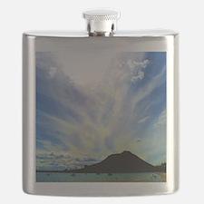 Cloudy Sky Flask