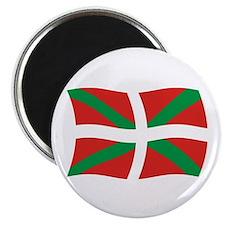 """Basque People Flag 2 2.25"""" Magnet (100 pack)"""