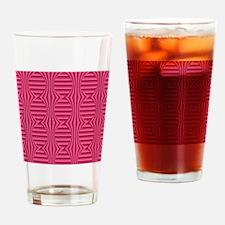 Sangria Half Fold Faux Satin Drinking Glass