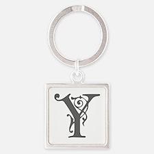Y-pre gray Keychains