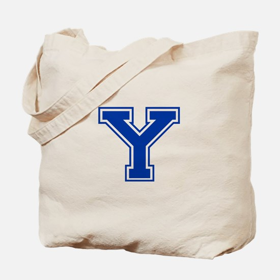 Y-var blue2 Tote Bag