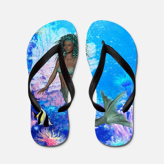 Unique Sea Flip Flops