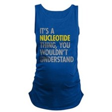 Its A Nucleotide Thing Maternity Tank Top