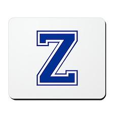 Z-var blue2 Mousepad