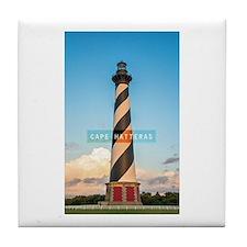 Cape Hatteras Light. Tile Coaster