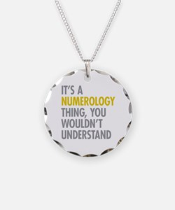 Its A Numerology Thing Necklace