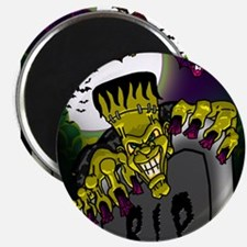 Graveyard Frankenstein Magnets