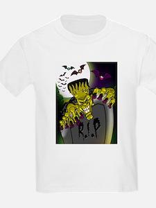 Graveyard Frankenstein T-Shirt