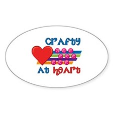 Crafty At Heart Decal