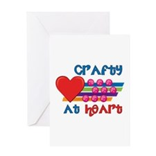 Crafty At Heart Greeting Cards