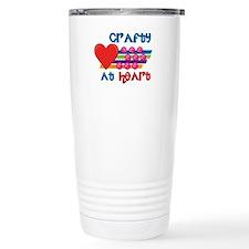 Crafty At Heart Travel Mug