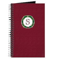 """Oak Wreath """"S"""" Journal"""