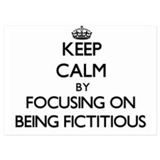 Keep Calm by focusing on Being Fictiti Invitations