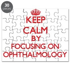 Keep Calm by focusing on Ophthalmology Puzzle