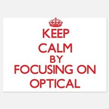 Keep Calm by focusing on Optical Invitations