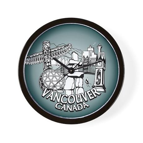 Vancouver Souvenir Cool Inukshuk Wall Clock