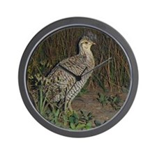 attwater prairie chicken Wall Clock