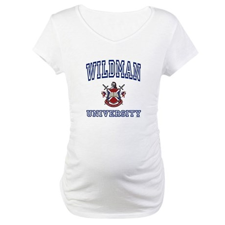 WILDMAN University Maternity T-Shirt
