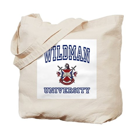 WILDMAN University Tote Bag