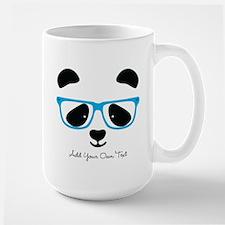 Cute Panda Blue Mugs