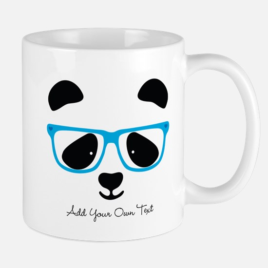 Cute Panda Blue Mugs