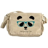 Panda Canvas Messenger Bags