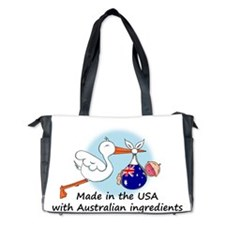 stork baby austr 2.psd Diaper Bag