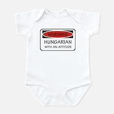 Attitude Hungarian Infant Bodysuit