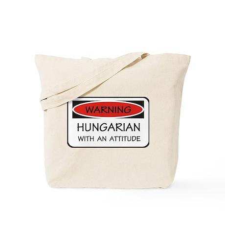 Attitude Hungarian Tote Bag