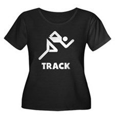 Track Plus Size T-Shirt