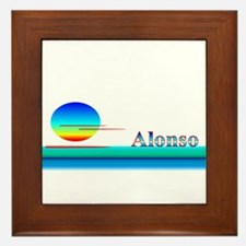 Alonso Framed Tile