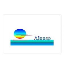 Alonso Postcards (Package of 8)