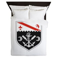 1st Engineer Combat Bn.png Queen Duvet